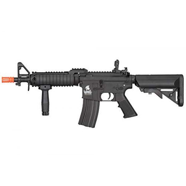 Lancer Tactical Airsoft Rifle 1 Lancer Tactical MK18 Polymer Low FPS MOD 0 AEG Airsoft Rifle Black