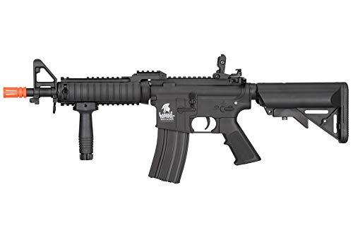 Lancer Tactical  1 Lancer Tactical MK18 Polymer Low FPS MOD 0 AEG Airsoft Rifle Black