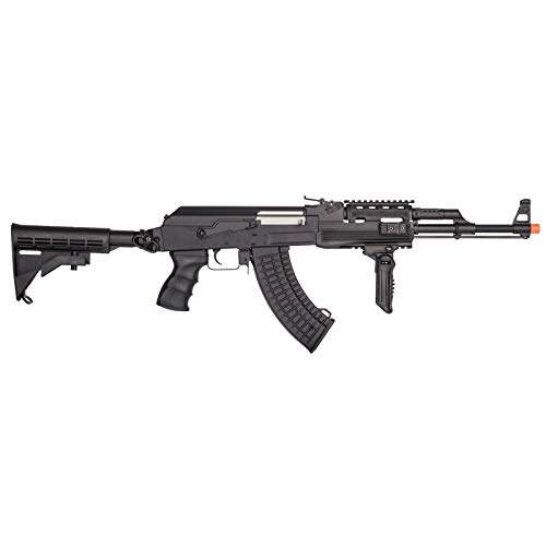Lancer Tactical  2 Lancer Tactical Airsoft Full Metal AK-47 AEG Rifle LE Stock with Battery & Charger Black