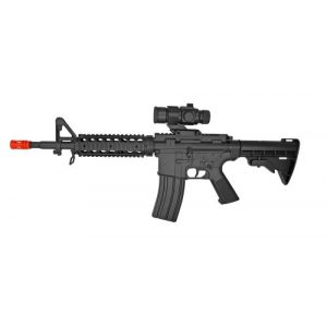 Electric Visual Airsoft Rifle 1 well m4 ris aeg electric rifle fps-250 collapsible stock airsoft gun(Airsoft Gun)