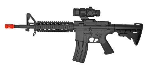 Electric Visual  1 well m4 ris aeg electric rifle fps-250 collapsible stock airsoft gun(Airsoft Gun)