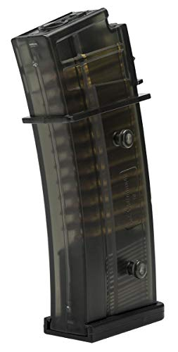 Elite Force Airsoft Gun Magazine 1 Elite Force 2275051 Hi-Cap Magazine - 400 RDS 6 mm BB, Black, One Size