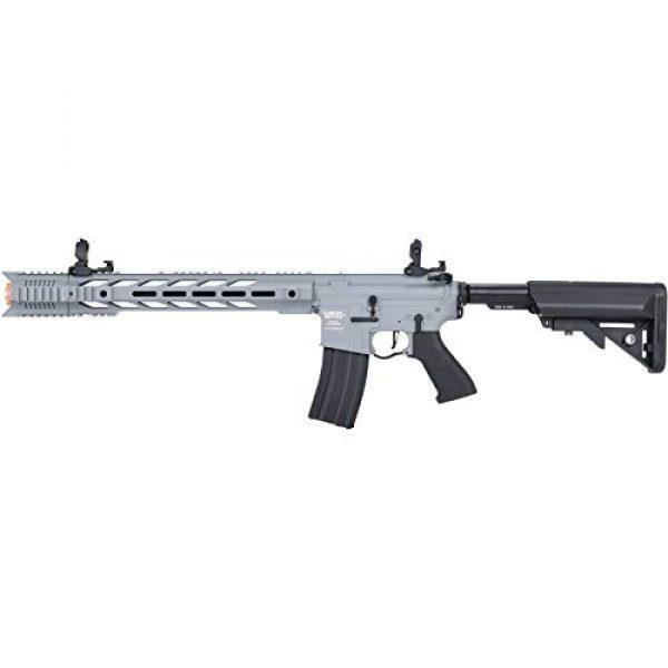 Lancer Tactical Airsoft Rifle 1 Lancer Tactical LT-25 ProLine Series M4 SPR Interceptor Airsoft AEG Rifle HIGH FPS Gray 395 FPS