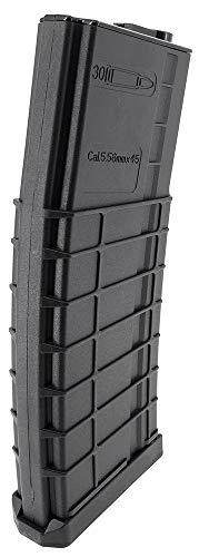 SportPro  4 SportPro CYMA 320 Round Polymer Thermold Waffle High Capacity Flash Magazine for AEG M4 M16 Airsoft - Black