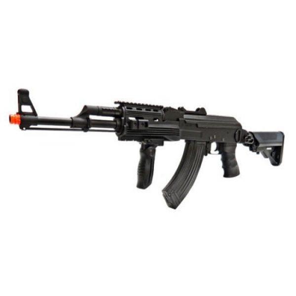 SRC Airsoft Rifle 1 src ak47 tac gen ii air soft rifle electric full auto aeg airsoft gun black(Airsoft Gun)