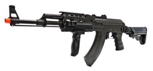 SRC  1 src ak47 tac gen ii air soft rifle electric full auto aeg airsoft gun black(Airsoft Gun)