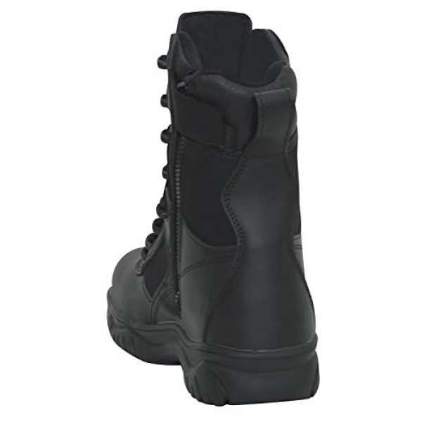 Rothco Combat Boot 3 8 Inch Forced Entry Tactical Boot with Side Zipper & Composite Toe