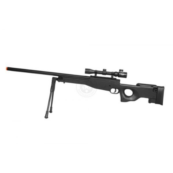 Well Airsoft Rifle 3 de airsoft shadow ops mk96 bolt action sniper rifle w/ bipod and scope(Airsoft Gun)