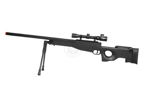 Well  3 de airsoft shadow ops mk96 bolt action sniper rifle w/ bipod and scope(Airsoft Gun)