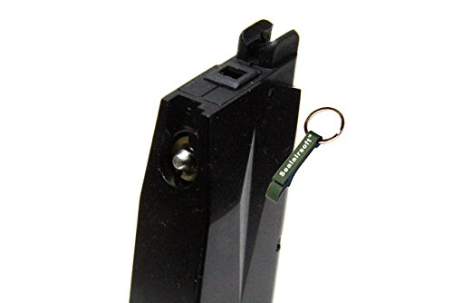 KJW  3 KJ Works 24rds Airsoft Metal 6mm GAS Magazine For P229 KP02 GBB -Mobile Ring Included