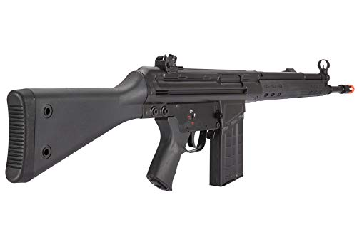 Lancer Tactical  4 Lancer Tactical LCT Stamped Steel Full Stock LC-3A3-S Airsoft AEG Rifle Black