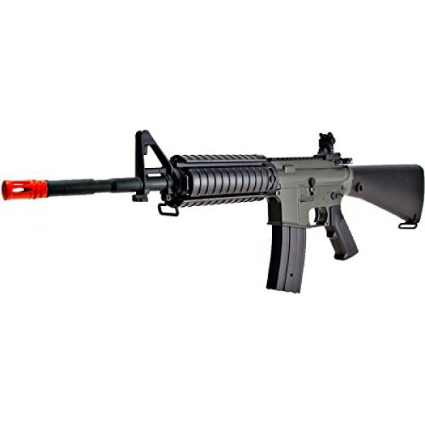 Jing Gong (JG) Airsoft Rifle 2 JG aeg-m4sr16 nicads/charger included-metal gearbox(Airsoft Gun)