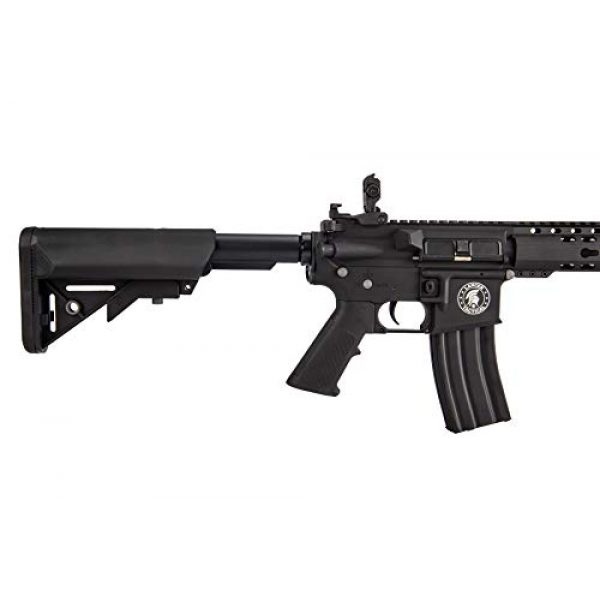 "Lancer Tactical Airsoft Rifle 4 Lancer Tactical LT-19BL-G2-M Gen 2 Airsoft M4 Carbine 10"" AEG Rifle Black"