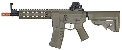Elite Force Airsoft Rifle 1 Elite Force Amoeba AM-008 AEG Automatic 6mm BB Rifle Airsoft Gun, FDE