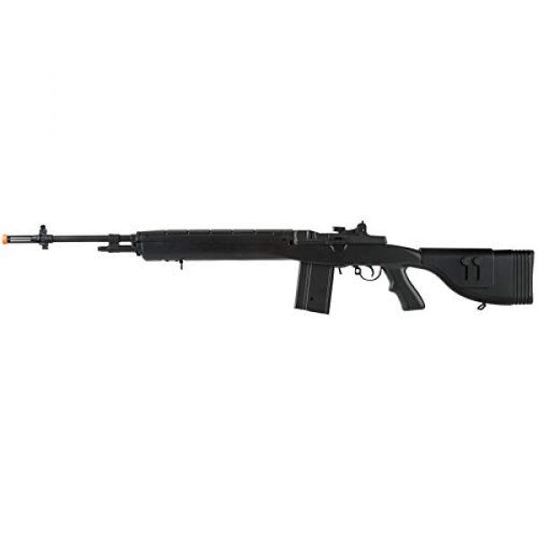 "Lancer Tactical Airsoft Rifle 1 Lancer Tactical LT-732 DMR Stock 45"" M14 SOCOM Airsoft AEG Rifle Black"