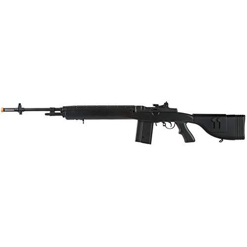 "Lancer Tactical  1 Lancer Tactical LT-732 DMR Stock 45"" M14 SOCOM Airsoft AEG Rifle Black"
