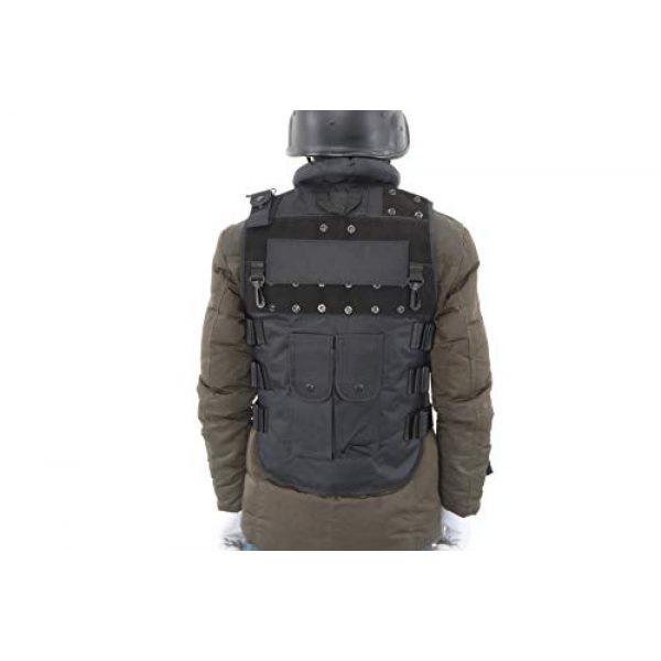 Sutekus Airsoft Tactical Vest 3 Sutekus Tactical Vest for Outdoor Paintball Airsoft Game Combat Training & Costume