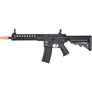 Lancer Tactical Airsoft Rifle 1 Lancer Tactical Classic Army Skirmish Series Delta 10 M4 Airsoft AEG Rifle Black 350 FPS