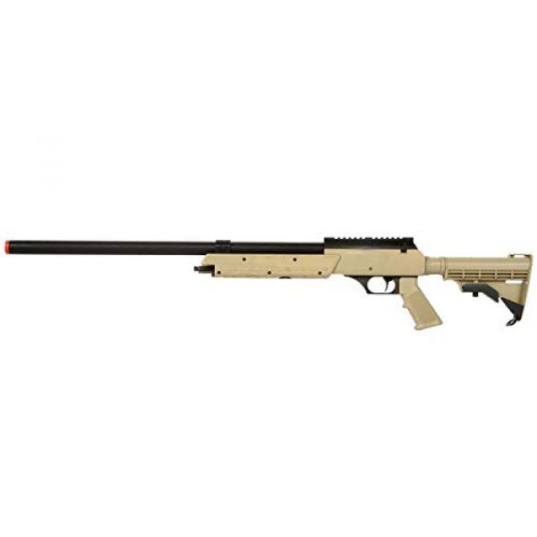 Well Airsoft Rifle 1 Well MB06 Airsoft Sniper Rifle - Tan