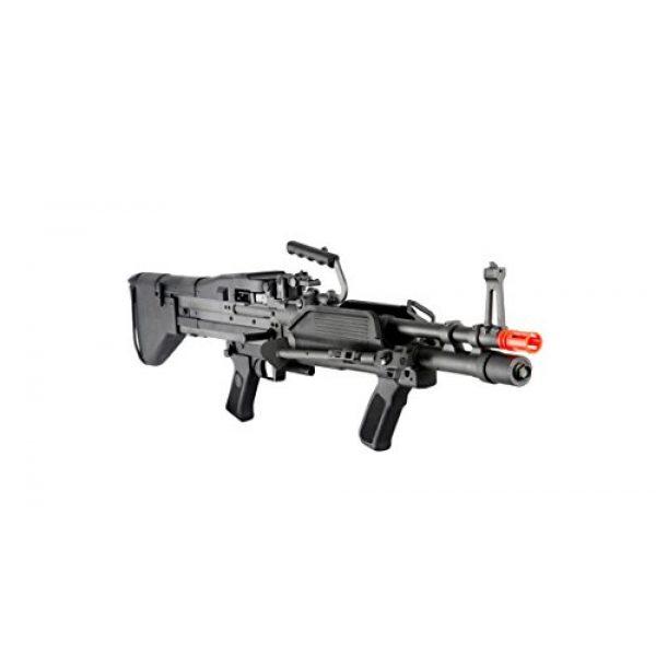 GLORYFIRE Airsoft Rifle 3 GLORYFIRE MK43 AEG Metal Gear Full Metal Body Integrated Bipod