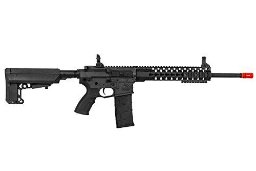 "Lancer Tactical  5 Lancer Tactical M4 Advance Recon Carbine 16"" AEG Airsoft Gun (Black)"