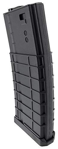 SportPro  3 SportPro CYMA 320 Round Polymer Thermold Waffle High Capacity Flash Magazine for AEG M4 M16 Airsoft - Black