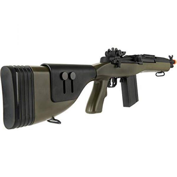 "Lancer Tactical Airsoft Rifle 4 Lancer Tactical LT-732 DMR Stock 38"" M14 SOCOM Airsoft AEG Rifle OD Green"