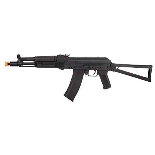 Lancer Tactical Airsoft Rifle 1 Lancer Tactical AK-Series AKS-105 AEG Airsoft Rifle with Skeleton Foldable Stock Black