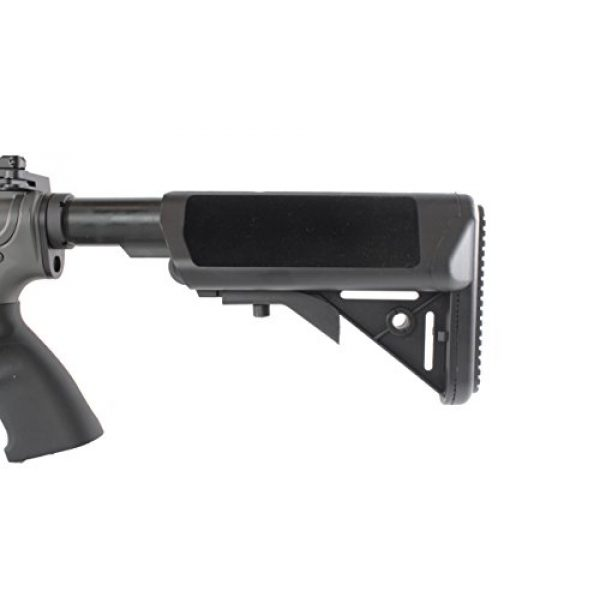 MetalTac Airsoft Rifle 7 MetalTac Electric Airsoft Gun M4 Stubby CQB JG-F6632 with Rail Mounting System, Metal Gearbox Version 2, Full Auto AEG, Upgraded Powerful Spring 380 Fps with .20g BBS