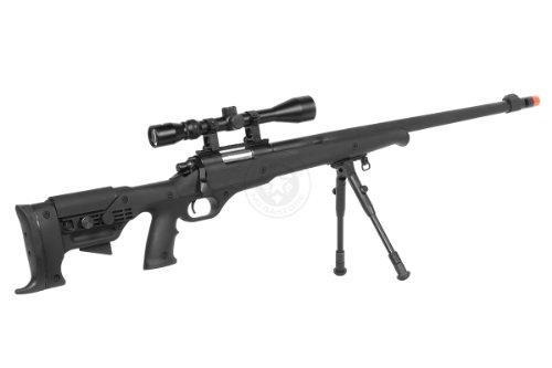 Airgunplace  5 wellfire mb11d full metal bolt action sniper rifle w/ scope and bipod(Airsoft Gun)