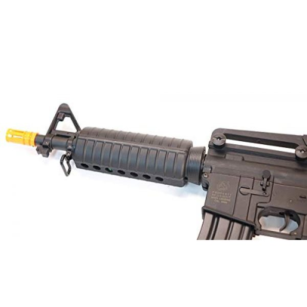 CyberGun Airsoft Rifle 2 CyberGun Colt M4 Sportsline Commando AEG- Black, Includes Battery and Charger, Multi-Color (180894/92584)