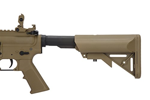 Lancer Tactical  7 Lancer Tactical Airsoft M4 SD GEN 2 Polymer AEG - TAN