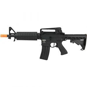 Lancer Tactical Airsoft Rifle 1 Lancer Tactical M933 Commando Proline Airsoft AEG Rifle 350 FPS Black