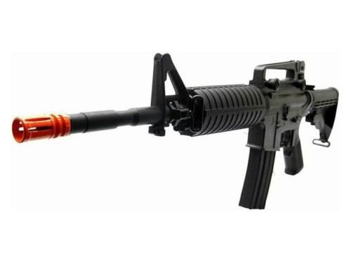 Prima USA  1 jg m1a4 metal gear box electric airsoft rifle nicads/charger included(Airsoft Gun)