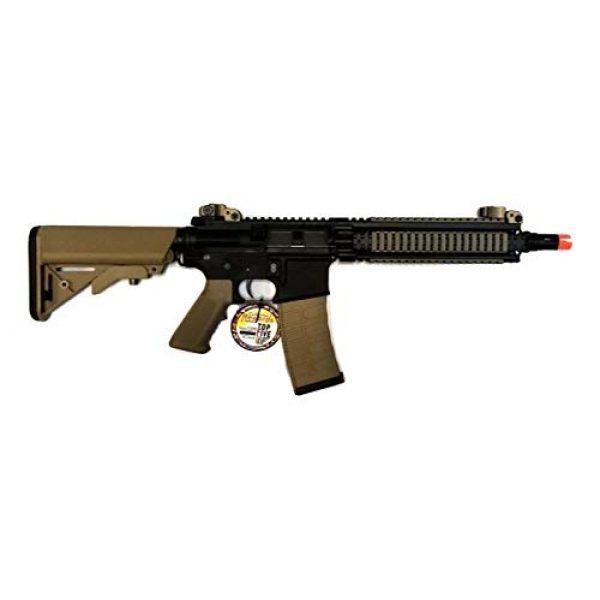 G&G Airsoft Rifle 2 G&G CM18 MOD1 Combat Machine AEG Metal Gears Airsoft Gun - Black