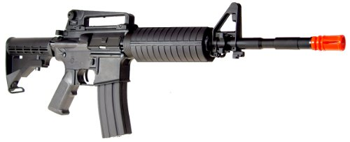 SRC  3 src aeg-m4a1 semi/full auto nimah/charger included-metal gb/blk(Airsoft Gun)