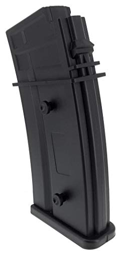 SportPro  4 SportPro Army Force 470 Round Polymer High Capacity Magazine for AEG G36 Airsoft - Black