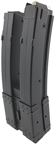 SportPro  5 SportPro 560 Round Polymer Double High Capacity Magazine for AEG MP5 Airsoft - Black