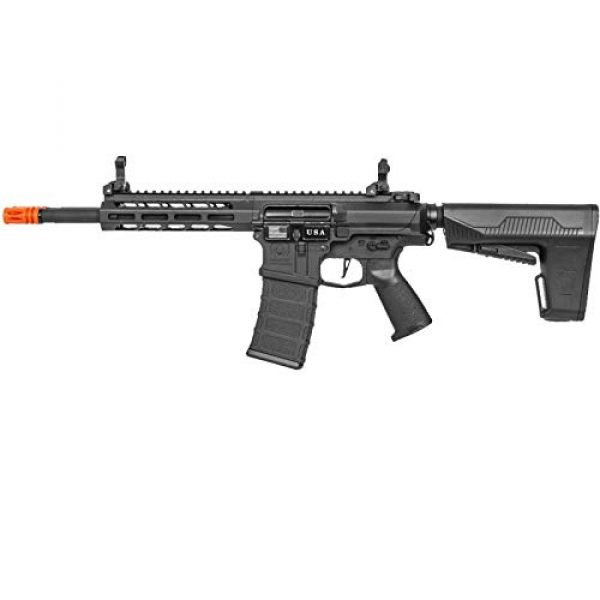 Lancer Tactical Airsoft Rifle 1 Lancer Tactical Classic Army DT-4 Double Barrel AR AEG Airsoft Rifle Black 350 FPS