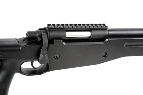 AGM  6 Airsoft AGM Metal Bolt Action L96 AWP Sniper Rifle Black