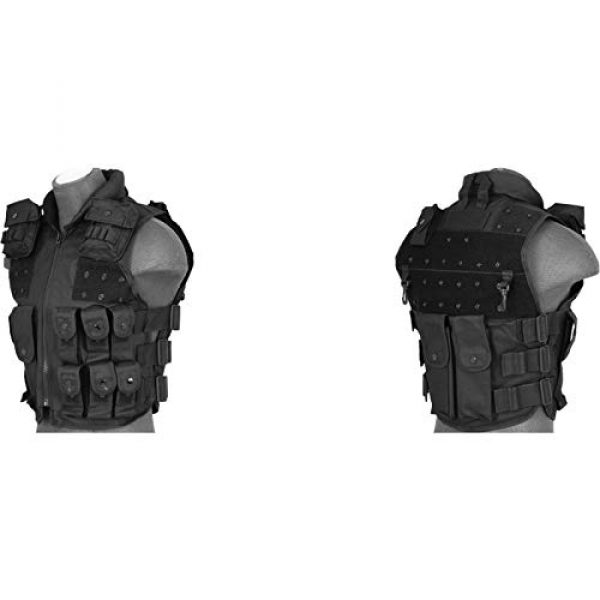 Lancer Tactical Airsoft Tactical Vest 1 Lancer Tactical UK Arms SWAT Police Law Enforcement Replica Tactical Vest with Patches