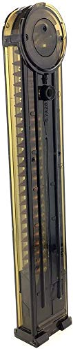 SportPro  3 SportPro Army Force 68 Round Polymer Low Capacity Magazine for AEG P90 3 Pack Airsoft - Transparent