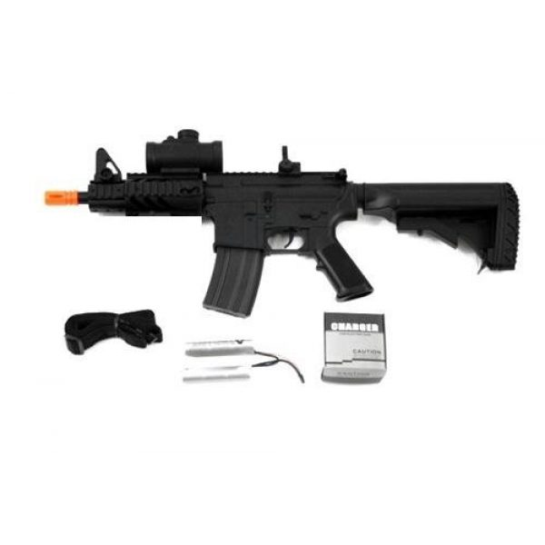 Double Eagle Airsoft Rifle 5 2011 315-fps Airsoft Rifle m16/m4 Style red dot Version 1 1 Double Eagle cqb 614 aeg Full auto Rifle Electric Airsoft Gun Airsoft Rifle Gun Assault Rifle Gun(Airsoft Gun)
