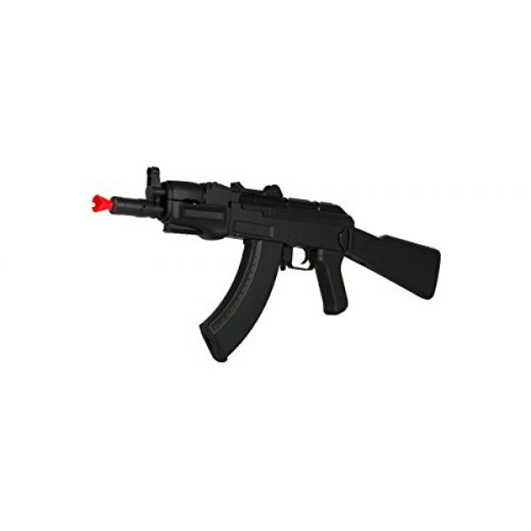 CYMA Airsoft Rifle 3 CYMA AK-BETA 74U AEG Semi/Full Auto Electric Airsoft Rifle Gun Ver. 3 Gearbox High Capacity Magazine FPS 330