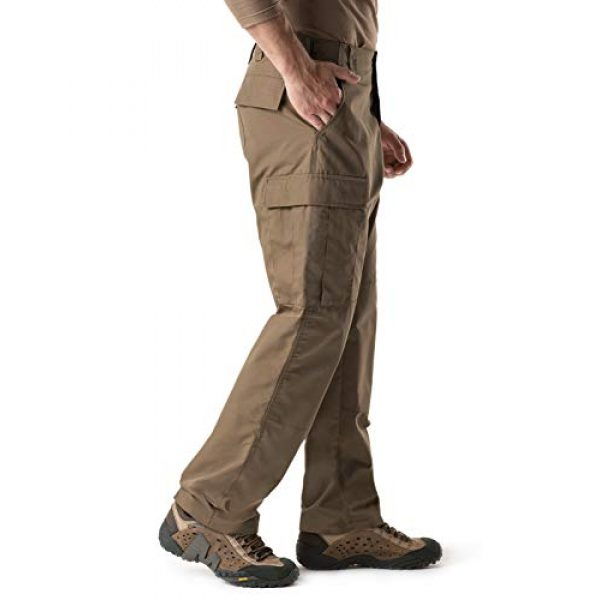 CQR Tactical Pant 3 Men's Tactical Pants, Military Combat BDU/ACU Cargo Pants, Water Repellent Ripstop Work Pants, Hiking Outdoor Apparel