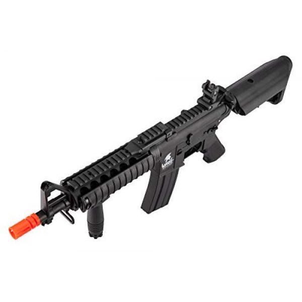 Lancer Tactical Airsoft Rifle 5 Lancer Tactical MK18 Polymer Low FPS MOD 0 AEG Airsoft Rifle Black