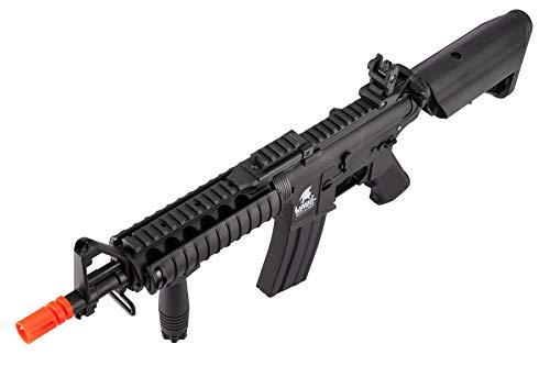 Lancer Tactical  5 Lancer Tactical MK18 Polymer Low FPS MOD 0 AEG Airsoft Rifle Black