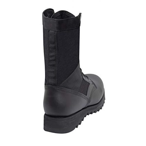 Rothco Combat Boot 3 Black Ripple Sole Jungle Boots
