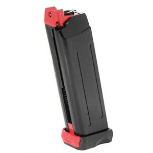 Generica Air Gun Magazine 1 Generica Airsoft Spare Parts APS 18rd CO2 Magazine for APS Steel Shark .177 Cal 4.5mm BB Black