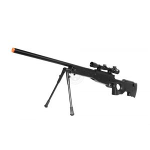 Well Airsoft Rifle 1 de airsoft shadow ops mk96 bolt action sniper rifle w/ bipod and scope(Airsoft Gun)